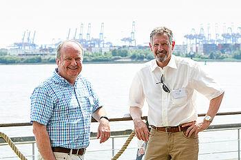 PECOS Geschäftsführer Jürgen Melzer und Wolfgang Brockhaus